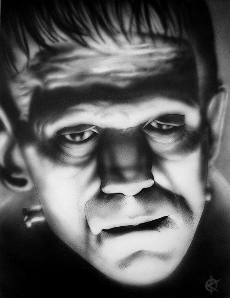 Boris As Frankenstein's Monster