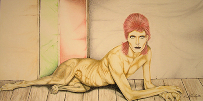 David Bowie as Diamond Dog