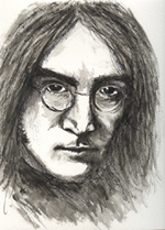 John Lennon with Glasses